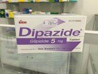 ダイパザイド 5mg(Dipazide 5mg)10錠×10シート(1箱)