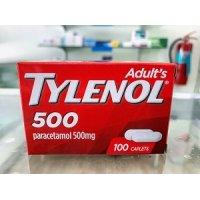【アセトアミノフェン500mg配合】タイレノール500(TYLENOL500)100錠×1ボトル